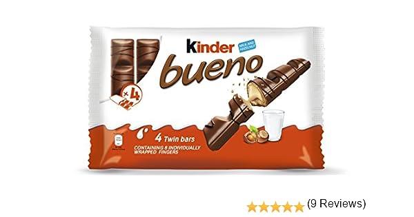 Kinder Bueno Classic Bar Mulitpack 4 x 172 g (Pack of 11): Amazon ...