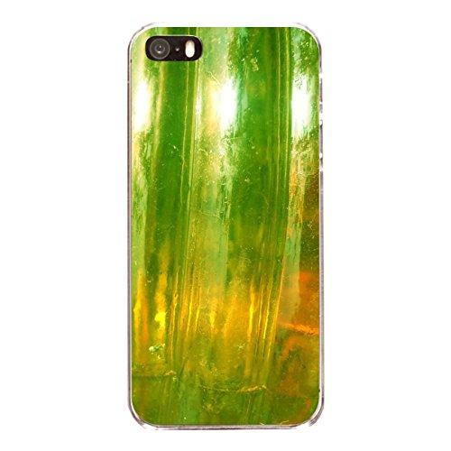 """Disagu Design Case Coque pour Apple iPhone SE Housse etui coque pochette """"Grünes Glas"""""""