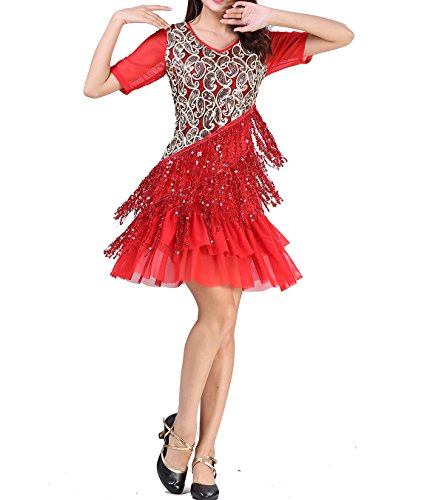 whitewed Roaring 20's 20s Great Gatsby Themed Dance Clothing Costume Dress Attire Outfits -
