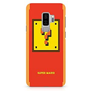 Loud Universe Minimal Style Samsung S9 Plus Case Mario Brothers Samsung S9 Plus Cover with 3d Wrap around Edges