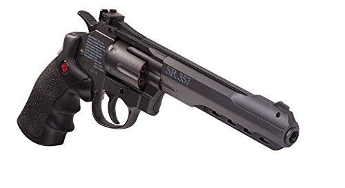 Crosman CRVL357B Metal Power Revolver