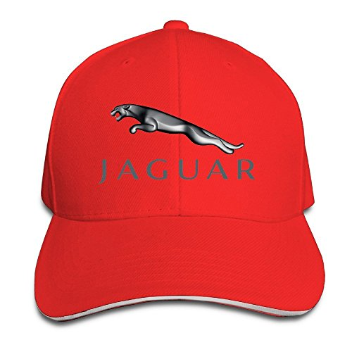 AmFUN Jaguar Logo Adjustable Snapback Peaked Cap Baseball Hats