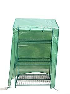Publicidad Acción–Tomates de invernadero Invernadero para tomates con techo inclinado 90x 49x 150cm