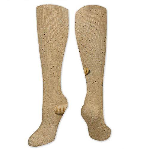 Compression Socks Sea Star Sea Beach Starfish Sand Girls Winter Sock Holiday Tight Stocking for Womens Men Boys ()