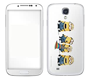 Zing Revolution One Direction Premium Vinyl Adhesive Skin for Samsung Galaxy S4 - Retail Packaging - Harry Blue Bright hjbrhga1544
