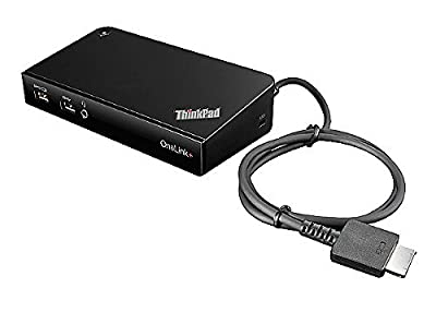 Lenovo ThinkPad Onelink Plus Dock ( 40A40090US , USA Retail Sealed and Packaged ) Includes 2 Prong 90w Ac Adapter