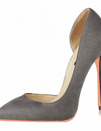GGX/ Damen / Herren / Mädchen / Unisex-High Heels-Hochzeit / Büro / Kleid / Lässig / Party & Festivität-Lackleder / Mikrofaser-Stöckelabsatz- red-us2.5 / eu32 / uk1 / cn31