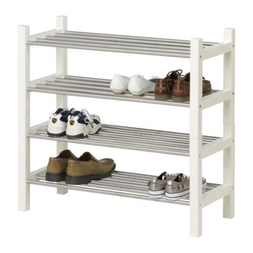 Ikea TJUSIG - Zapatero, Blanco - 79 cm: Amazon.es: Hogar