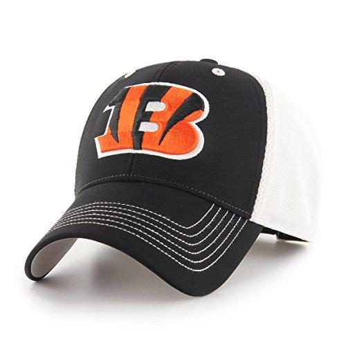 (NFL Cincinnati Bengals Sling OTS All-Star MVP Adjustable Hat, Black, One Size)