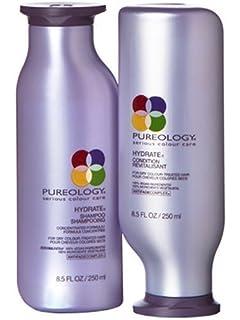 Amazon.com : Pureology Hydrate Shampoo and Condition Set, 8.5 oz ...