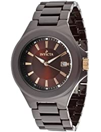 Mens 12549 Ceramics Brown Dial Brown Ceramic Watch