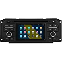 Rupse 4.3inch HD Android with DVD For Jeep Grand Cherokee / Wrangler / Liberty / Chrysler 300M / PT Cruiser / Sebring / Concorde / Dodge Pickup Without Factory NAV. And Digital AMP. Function