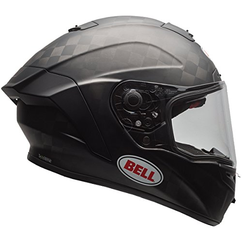 Bell Pro Star Unisex-Adult Full Face Street Helmet (Solid Matte Black, XX-Large) (D.O.T.-Certified)