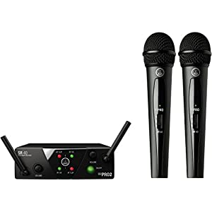 AKG Pro Audio Wireless Microphone System (MINI2VOC-US25A/C)