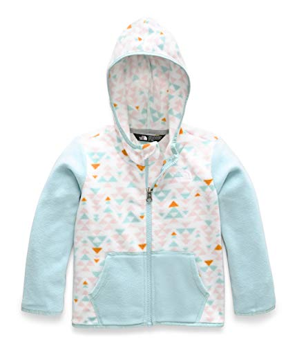 - The North Face Toddler Glacier Full Zip Hoodie - Kid's TNF White Mini Aztec Print 3T