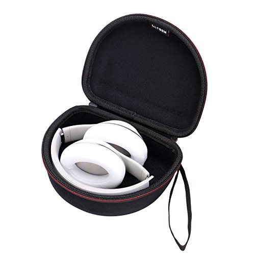 LTGEM Case Compatible with Beats Studio Wireless/Wired Over-Ear Headphones & Beats Solo2 / Solo3 Wireless On-Ear Headphones (Black)