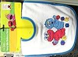 Sesame Chin Bib 90 pcs sku# 905370MA