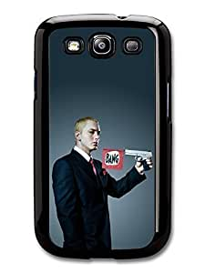 AMAF ? Accessories Eminem Gun Bang Hip Hop Rapper case for Samsung Galaxy S3
