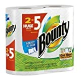 Bounty Sel-A-Size Paper Towels, Huge, 24ct [7A20R4X15] by Bounty