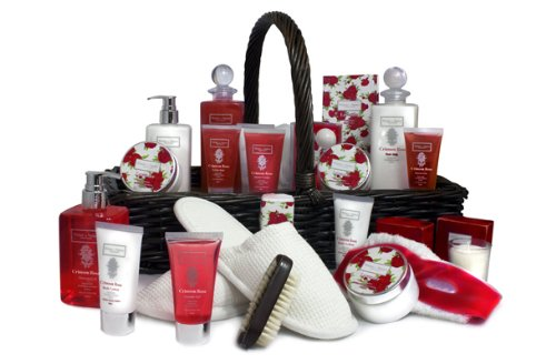 Everything Cranberry Spa Gift Basket