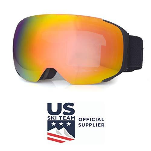 cdfe3b2cc35f Zipline  Podium OTG No Fog Over Glasses Ski Snowboard Goggles for ...