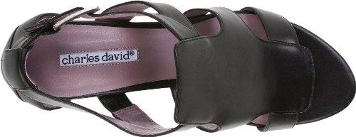 Charles David Womens Graylin Sandal Black o603f7dqT2