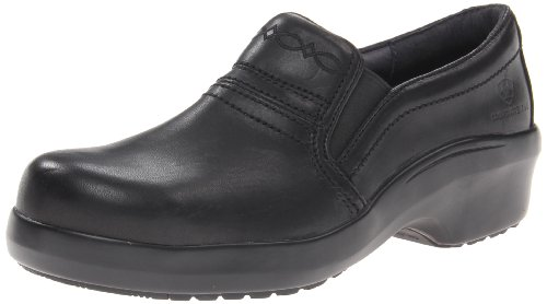Ariat Womens Expert Safety Clog Comp Toe Static Dissipative Clogs/Shoes 5.5 B/Medium(Width) Black