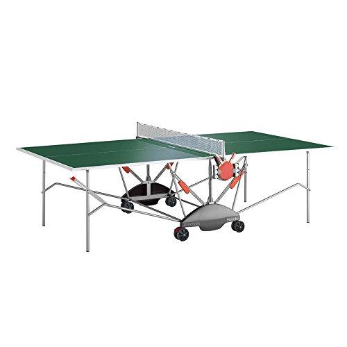 Kettler Match 5.0 Indoor/Outdoor Table Tennis Table, Green Top 7176-090