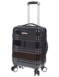 "Air Canada 20"" Carry On Hardside Roll Aboard Suitcase Black"