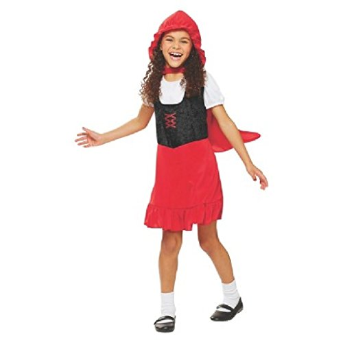 Girl's Little Red Riding Hood Costume - S(4-6)