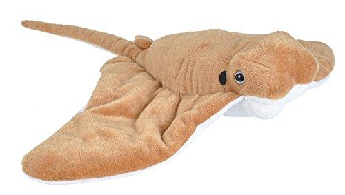 Wild Republic Cownose Ray Plush, Stuffed Animal, Plush Toy, Gifts for Kids, Cuddlekins 20 Inches ()