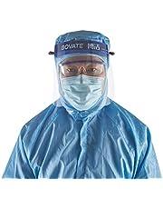 Safety Face Shield Mask Eye Head Protection Anti Splash Protective Face Mask kitchen Mask Safety Face Shield Protector for Home or Outdoor First Aid Use Supply