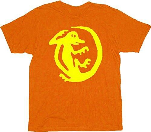 Legends of the Hidden Temple Orange Iguanas Adult Costume T-shirt Tee