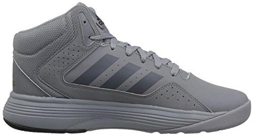 M 6 Basketball Ilation 5 Silver metallic Us black Mid Adidas white Cloudfoam Performance Shoe E7Iq7v6x
