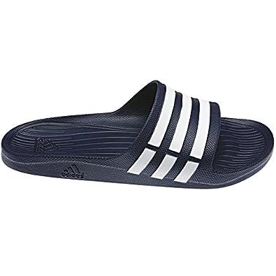 c0c5bb7c88ca adidas Duramo Slide Mens Flip Flop Sandal Navy Blue