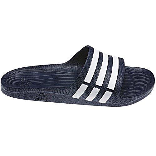 adidas Duramo Slide Uomo Sandalo infradito blu navy