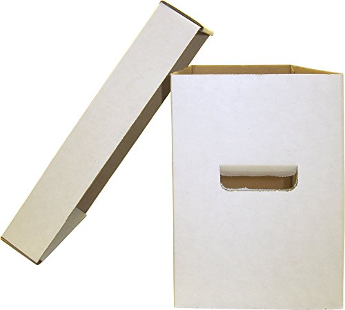 BCW Diversified (5) BCW Brand SHORT Comic Storage Box - Holds 150-175 Comic Books - CXBCSHORT
