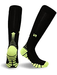 Italy, Patented Graduated Compression Socks Pairs VT1211 Silver Drysat Series