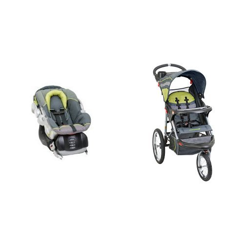 Baby Trend Stroller And Carseat - 4