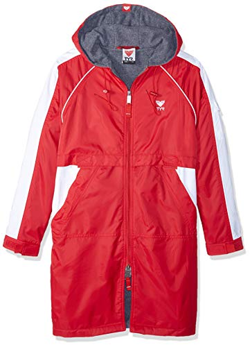 TYR 610WASP2YL Youth Alliance Parka, Red, Large