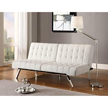 Amazoncom Emily Convertible Futon Multiple Colors Kitchen Dining
