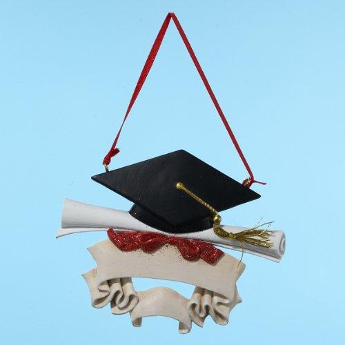 Kurt Adler Graduate Christmas Ornament (Graduation Cap Ornament)