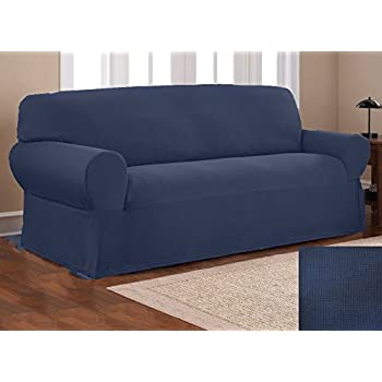 Amazon Fancy Collection Sure Fit Stretch Fabric Sofa