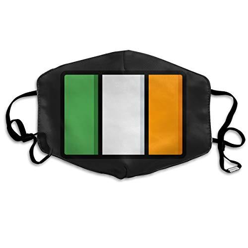 SDQQ6 Ireland Mouth Mask Unisex Printed Fashion Face Mask Anti-dust -