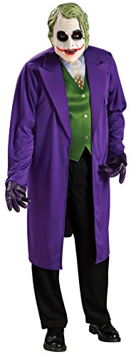 [Rubie's Costume Co Plus-Size Batman The Dark Knight Joker Costume, Multi, One Size] (Plus Size Batman Costumes)