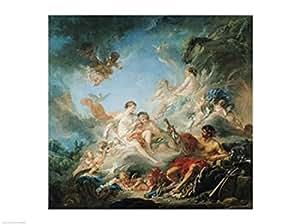 Francois Boucher – La fragua de Vulcano Artistica di Stampa (60,96 x 45,72 cm)