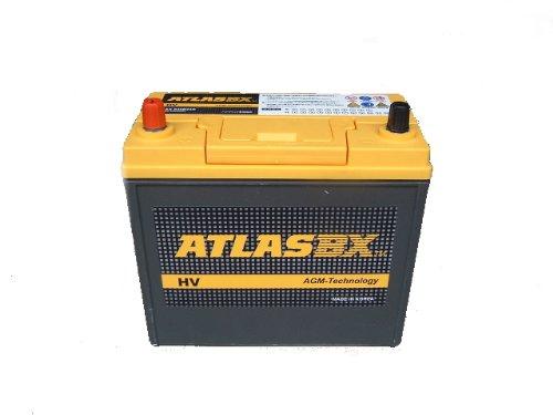ハイブリッドプリウス/レクサス車用補機バッテリーATLASBX(ax-S46B24R)nbc B00F3TZTZY