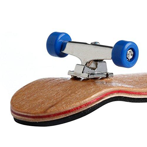 Deck Planche 1Set Bois en Cadeau Érable en Enfants Sport À Jeux Ensemble Fingerboard roulettes Bois Dabixx Noir 6tqXwSX