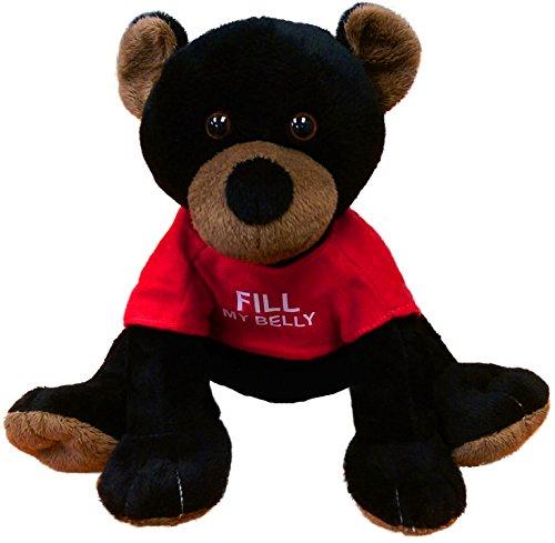 Anico Plush Toy, Stuffed Animal, Coin Bank, Black Bear ()