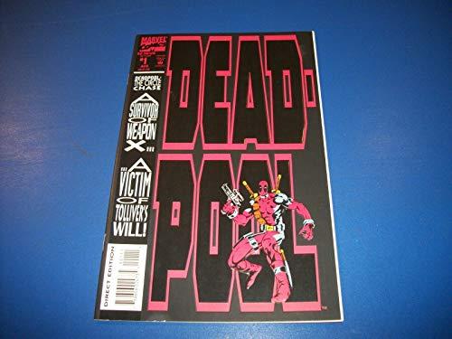 DEADPOOL THE CIRCLE CHASE #1 NM 1st Mini Series 1993]()